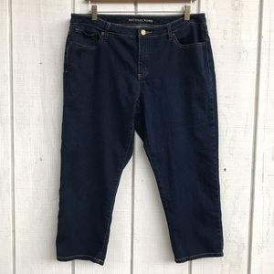Michael Kors Size 12 Cropped Jeans